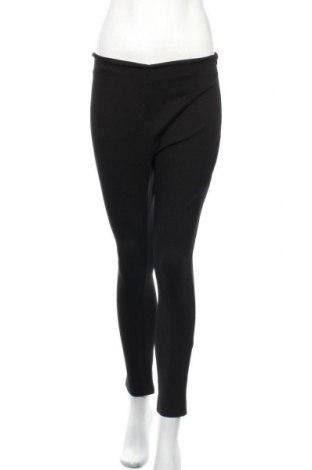 Дамски панталон Atmos & Here, Размер M, Цвят Черен, 65% вискоза, 30% полиамид, 5% еластан, Цена 7,56лв.
