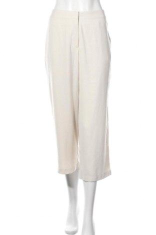 Дамски панталон Aware by Vero Moda, Размер L, Цвят Екрю, Полиестер, Цена 13,81лв.
