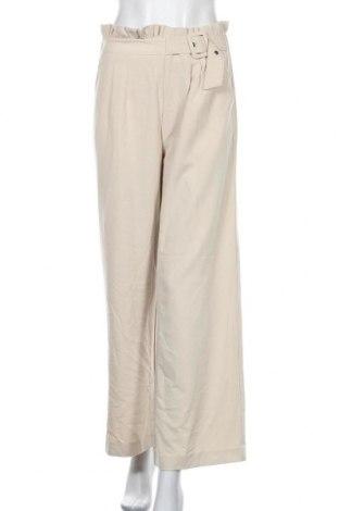 Дамски панталон B.You, Размер S, Цвят Бежов, 64% полиестер, 32% вискоза, 4% еластан, Цена 20,49лв.