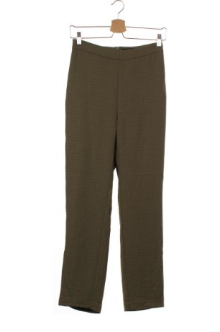 Дамски панталон Bardot, Размер XS, Цвят Зелен, Полиестер, Цена 5,12лв.