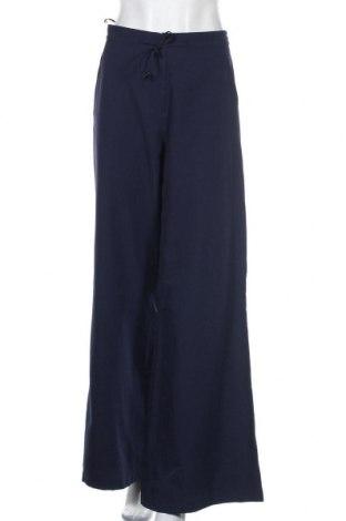 Pantaloni de femei Bgn Workshop, Mărime M, Culoare Albastru, 55% bumbac, 45% poliester, Preț 93,16 Lei