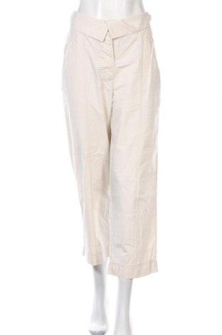 Дамски панталон COS, Размер L, Цвят Бежов, Памук, Цена 22,64лв.