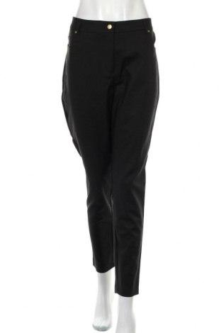 Дамски панталон City Chic, Размер XL, Цвят Черен, 50% памук, 47% полиамид, 3% еластан, Цена 15,52лв.