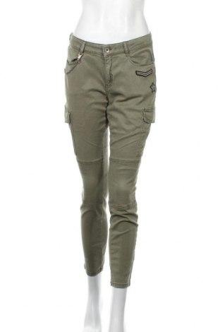 Дамски панталон Comma,, Размер M, Цвят Зелен, Цена 17,67лв.