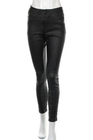 Дамски панталон Country Denim, Размер M, Цвят Черен, 65% вискоза, 30% полиамид, 5% еластан, Цена 10,26лв.
