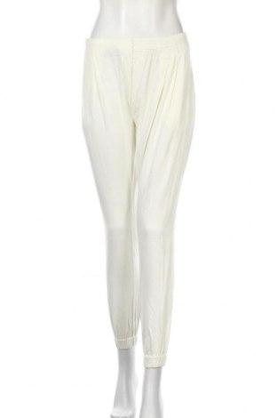 Дамски панталон Dreimaster, Размер S, Цвят Бял, Памук, Цена 13,09лв.
