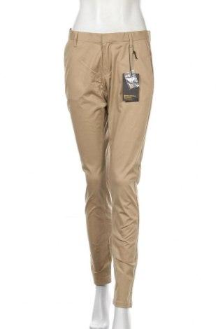 Γυναικείο παντελόνι Dreimaster, Μέγεθος M, Χρώμα  Μπέζ, 97% βαμβάκι, 3% ελαστάνη, Τιμή 5,57€