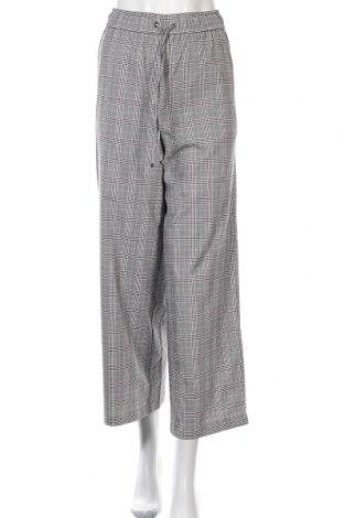 Дамски панталон GU, Размер S, Цвят Сив, 66% полиестер, 33% вискоза, 1% еластан, Цена 6,77лв.