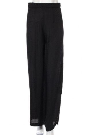 Дамски панталон H&M, Размер S, Цвят Черен, Вискоза, Цена 6,90лв.