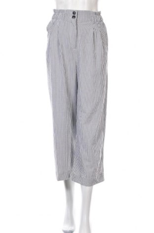 Дамски панталон H&M, Размер S, Цвят Син, 67% полиестер, 30% вискоза, 3% еластан, Цена 7,94лв.