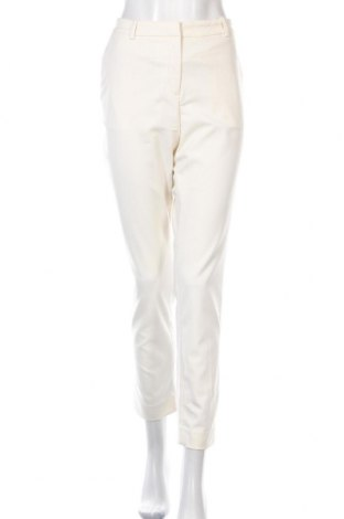 Дамски панталон H&M, Размер L, Цвят Екрю, 64% полиестер, 34% вискоза, 2% еластан, Цена 11,03лв.