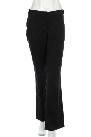 Дамски панталон H&M, Размер L, Цвят Черен, 64% полиестер, 33% вискоза, 3% еластан, Цена 21,00лв.