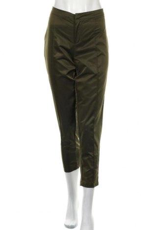 Дамски панталон Izabel London, Размер M, Цвят Зелен, Полиестер, Цена 7,70лв.