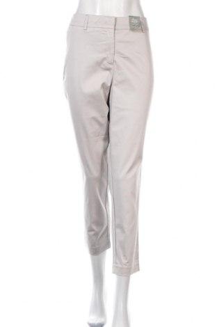Дамски панталон Jacqui-E, Размер L, Цвят Сив, 97% памук, 3% еластан, Цена 14,16лв.