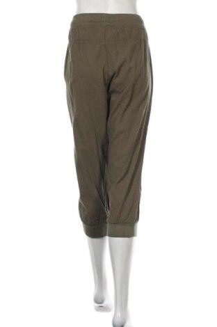 Дамски панталон Kaffe, Размер XL, Цвят Зелен, Памук, Цена 18,29лв.