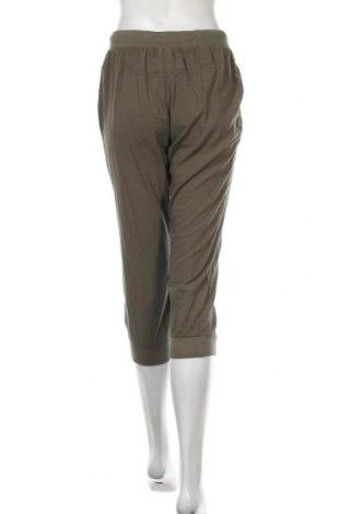 Дамски панталон Kaffe, Размер S, Цвят Зелен, Памук, Цена 10,25лв.