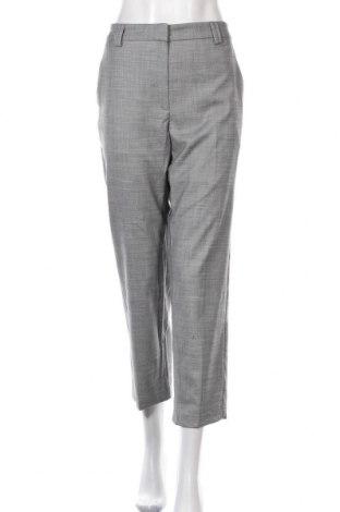 Дамски панталон Marks & Spencer, Размер M, Цвят Сив, 94% полиестер, 5% вискоза, 1% еластан, Цена 13,13лв.