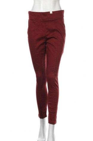 Дамски панталон Millers, Размер L, Цвят Червен, 71% памук, 27% полиестер, 2% еластан, Цена 9,98лв.