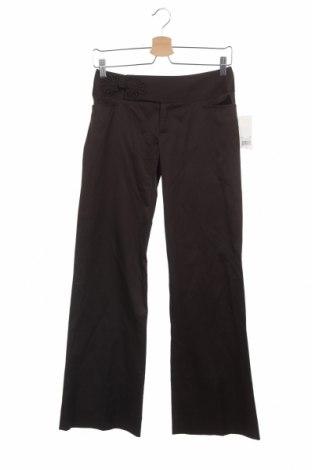 Дамски панталон Nanette Lepore, Размер S, Цвят Кафяв, 62% памук, 33% вискоза, 5% еластан, Цена 18,64лв.