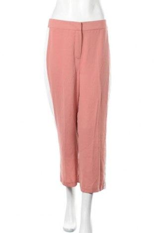 Дамски панталон New Look, Размер M, Цвят Розов, Полиестер, Цена 10,33лв.