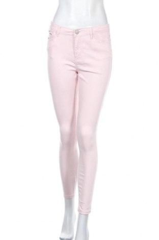 Дамски панталон Now, Размер M, Цвят Розов, Памук, полиестер, еластан, Цена 8,04лв.