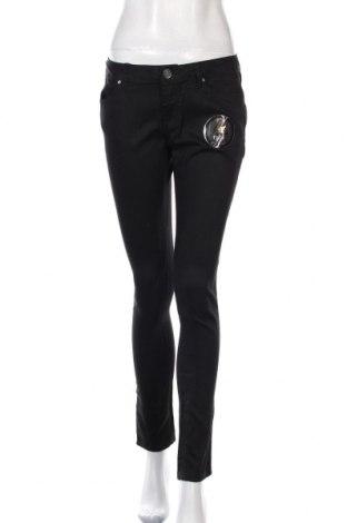 Дамски панталон Now, Размер M, Цвят Черен, Памук, полиестер, еластан, Цена 11,12лв.