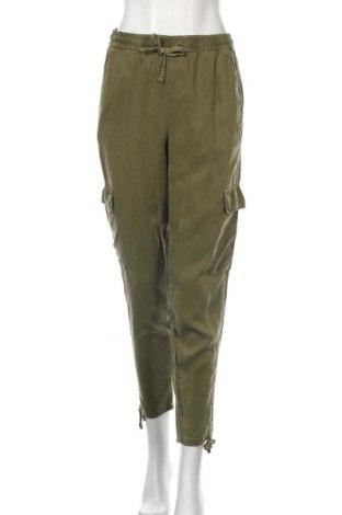Дамски панталон ONLY, Размер S, Цвят Зелен, Лиосел, Цена 10,41лв.