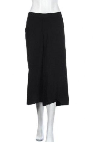 Дамски панталон Object, Размер M, Цвят Черен, 63% полиестер, 32% вискоза, 5% еластан, Цена 13,01лв.