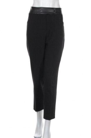 Дамски панталон Orsay, Размер M, Цвят Черен, 72% полиестер, 21% вискоза, 7% еластан, еко кожа, Цена 22,95лв.