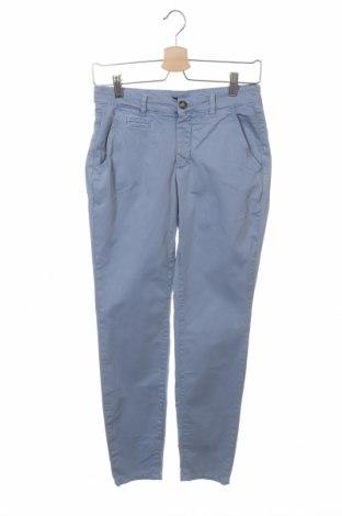 Дамски панталон Oui, Размер XS, Цвят Син, 98% памук, 2% еластан, Цена 24,63лв.