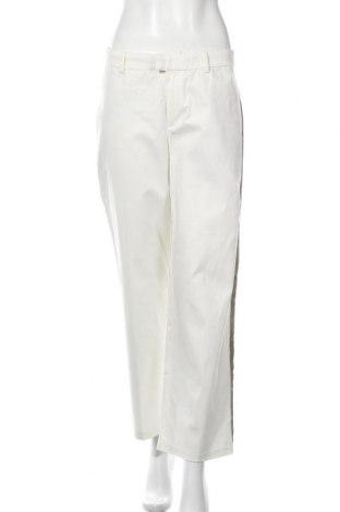 Дамски панталон Pepe Jeans, Размер L, Цвят Бял, 98% памук, 2% еластан, Цена 126,75лв.