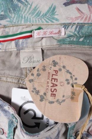 Дамски панталон Please, Размер XXS, Цвят Многоцветен, 75% памук, 22% полиестер, 3% еластан, Цена 20,64лв.