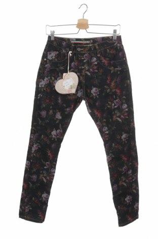 Pantaloni de femei Please, Mărime XS, Culoare Multicolor, 70% bumbac, 27% poliester, 3% elastan, Preț 42,00 Lei