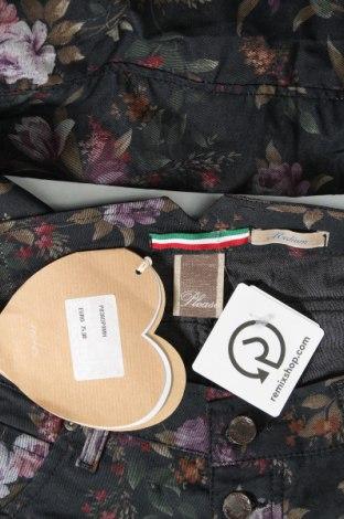 Дамски панталон Please, Размер M, Цвят Многоцветен, 70% памук, 27% полиестер, 3% еластан, Цена 24,34лв.
