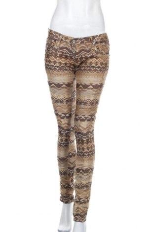Дамски панталон Please, Размер M, Цвят Многоцветен, 77% памук, 21% полиестер, 2% еластан, Цена 14,90лв.