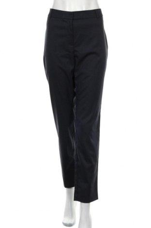 Дамски панталон Portmans, Размер XL, Цвят Син, 65% полиестер, 33% вискоза, 2% еластан, Цена 15,02лв.