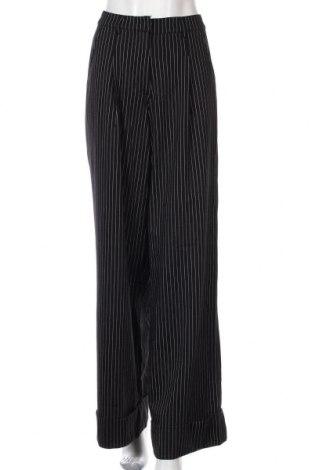 Дамски панталон Princess Polly, Размер M, Цвят Черен, 60% памук, 35% полиамид, 5% еластан, Цена 11,03лв.