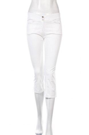 Дамски панталон Rinascimento, Размер M, Цвят Бял, Цена 10,34лв.