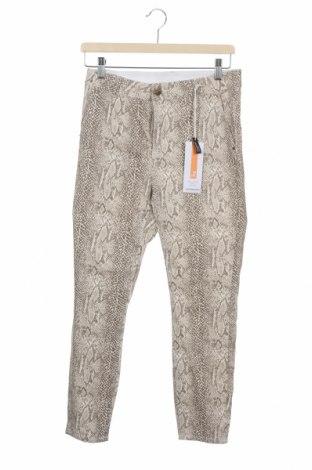 Дамски панталон Rockmans, Размер M, Цвят Многоцветен, Памук, еластан, Цена 4,80лв.