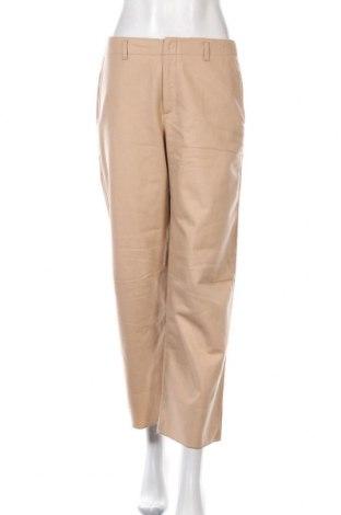 Дамски панталон Stefanel, Размер M, Цвят Бежов, 80% вълна, 20% полиамид, Цена 68,00лв.