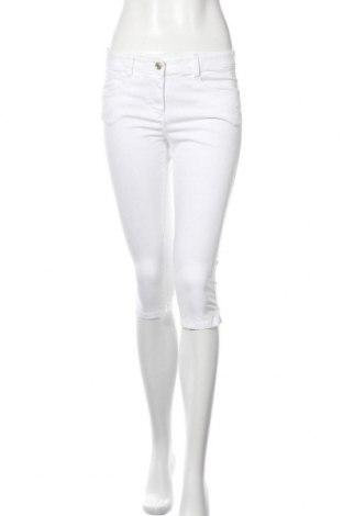 Дамски панталон Tom Tailor, Размер S, Цвят Бял, 97% памук, 3% еластан, Цена 11,88лв.