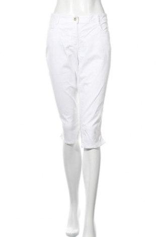 Дамски панталон Tom Tailor, Размер L, Цвят Бял, 97% памук, 3% еластан, Цена 3,00лв.