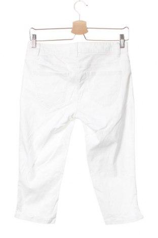Дамски панталон Tom Tailor, Размер XS, Цвят Бял, 97% памук, 3% еластан, Цена 11,88лв.