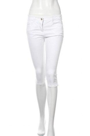 Дамски панталон Tom Tailor, Размер S, Цвят Бял, 97% памук, 3% еластан, Цена 3,00лв.