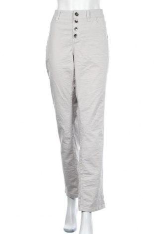 Дамски панталон Triangle By s.Oliver, Размер XXL, Цвят Бежов, 98% памук, 2% еластан, Цена 19,51лв.
