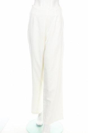 Дамски панталон Usha, Размер S, Цвят Бял, 92% полиестер, 8% еластан, Цена 19,35лв.