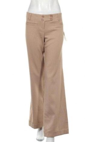 Дамски панталон Valley Girl, Размер XL, Цвят Бежов, Полиестер, Цена 12,60лв.