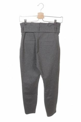Дамски панталон Vero Moda, Размер XS, Цвят Сив, 65% вискоза, 30% полиамид, 5% еластан, Цена 51,75лв.