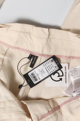 Дамски панталон Vero Moda, Размер M, Цвят Бежов, 93% вискоза, 7% полиестер, Цена 9,00лв.