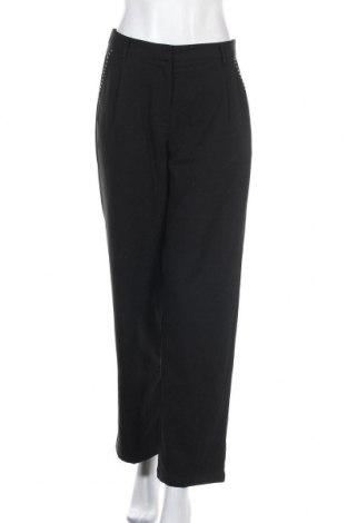 Дамски панталон Vila Joy, Размер S, Цвят Черен, 95% полиестер, 5% еластан, Цена 6,83лв.